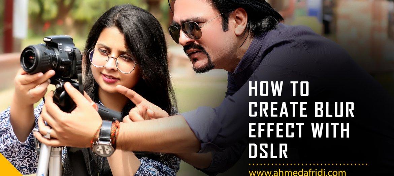 how to create blur effect thumbnail